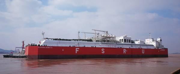 Karunia Dewata FSRU (Photo: Lloyd's Register)