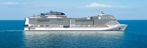 MSC Grandiosa. صورة: MSC Cruises SA