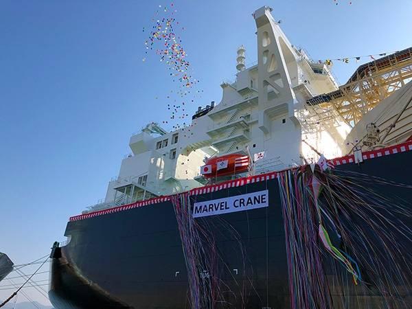 Marvel Crane (Φωτογραφία: Mitsubishi Shipbuilding Co, Ltd)