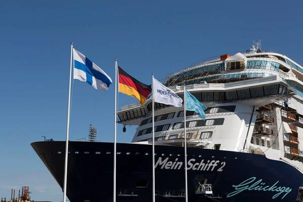 Mein Schiff 2(写真:Meyer Turku Shipyard)