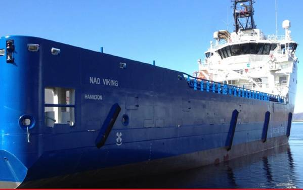 'NAO Viking'。照片:Nordic American Offshore