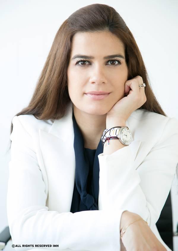 Natasa Pilides, Zypern Stellvertretender Minister für Schifffahrt. Urheberrecht: Alle Rechte vorbehalten IMH