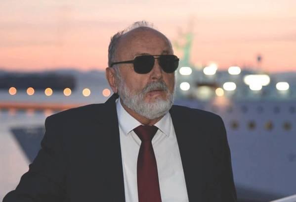 Panagiotis Kouroumplis, griechischer Minister für maritime Angelegenheiten und Insularpolitik