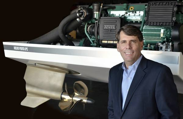 Ron Huibers, Πρόεδρος της Volvo Penta της Αμερικής. Φωτογραφία: Ron Huibers