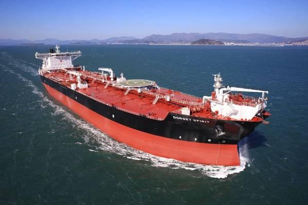SHI为北美船东建造了穿梭油轮。照片:三星重工