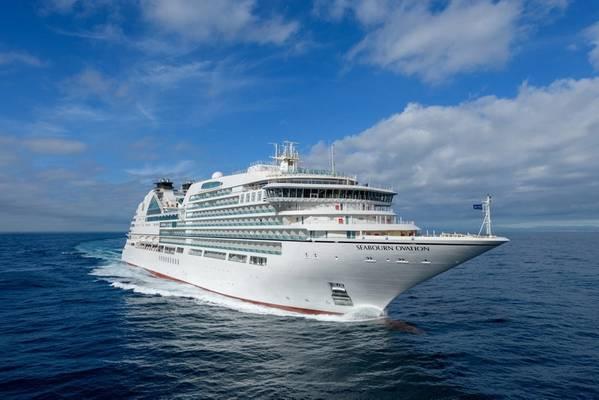 Seabourn Ovation. الصورة المقدمة من Seabourn Cruise Line