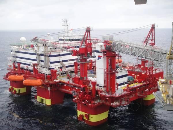 Semco Maritime fue elegido para preparar la plataforma de alojamiento Floatel Victory para una nueva asignación para Maersk Oil en el sector del Reino Unido. Foto: Cortesía de Semco Maritime