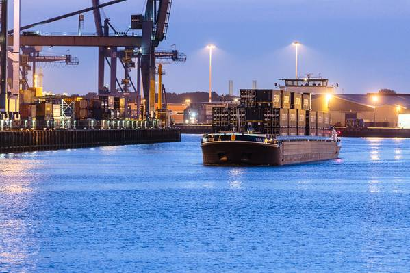 Shortsea Container Shipping (Imagem de arquivo / CREDIT Samskip)