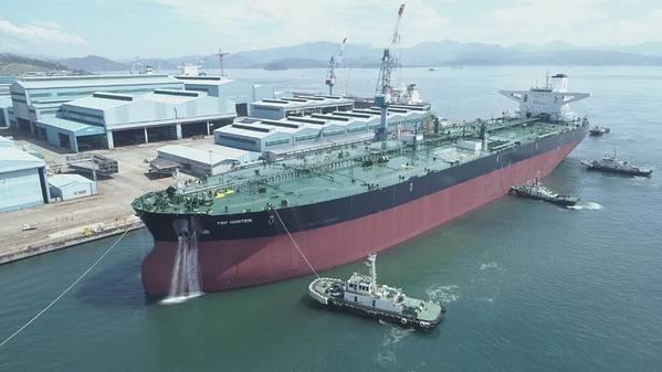 De Stock: Indústrias pesadas de Hanjin e construção Co. Filipinas