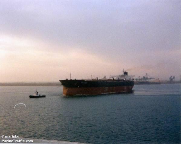 Tanker riah(文件图片:CREDIT MarineTraffic.com /©Marinko)