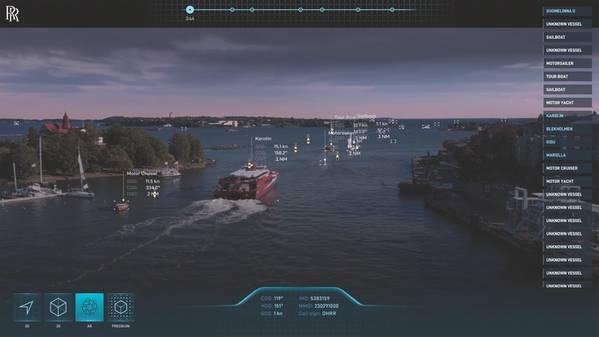 Trailblazers: В то время как цифровизация все еще находится в зачаточном состоянии в море, есть некоторые четкие лидеры, такие как Rolls-Royce, направляющие путь. (Изображение: Rolls-Royce)