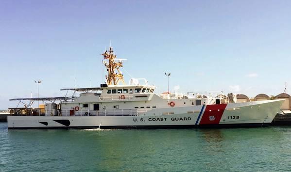 USCGCフォレストレッドナウ(写真:ボリンジャー)