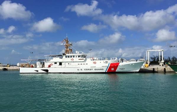 USCGC Richard Snyder στο Key West, Φλόριντα (Φωτογραφία: Ναυπηγεία Bollinger)