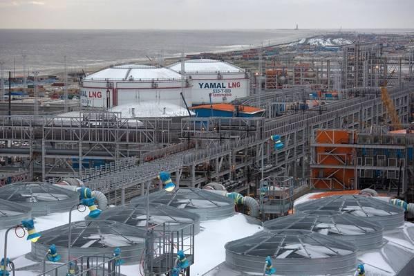 Yamal LNG. Foto: Total