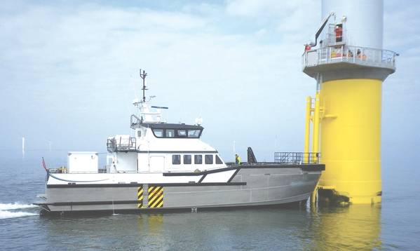 Un diseño South Boats de 26 metros (Imagen cortesía de Blount Boats)