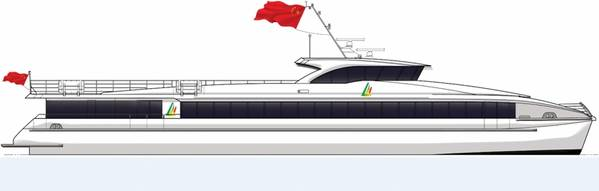 وسيتم بناء أربع عبارات على بعد 42 مترا من قبل أولونغ لشيداو داتشو للسياحة المحدودة من الصين في مارس 2018 (صورة: أولونغ)