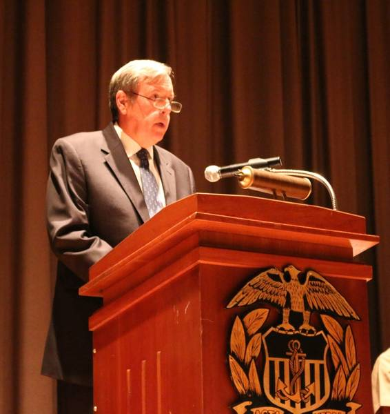 John R. Ballard, Ph.D., nuevo decano académico y preboste de la USMMA