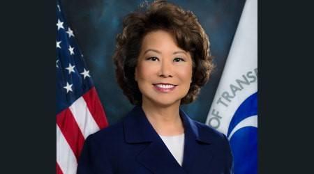 Secretária de Transportes Elaine L. Chao