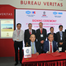The classification contract for CMA CGM's 22,000 TEU dual-fuel containerships was signed during a ceremony at Marintec in Shanghai (Photo: BV)
