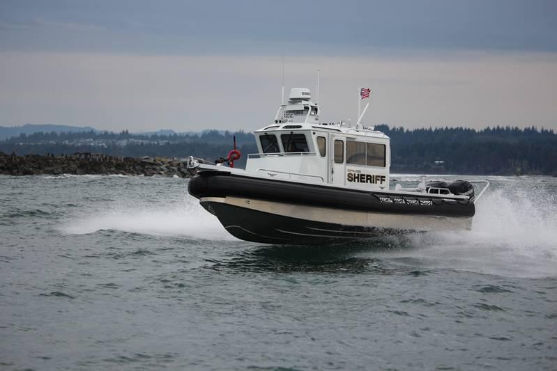 On Patrol North River Boats