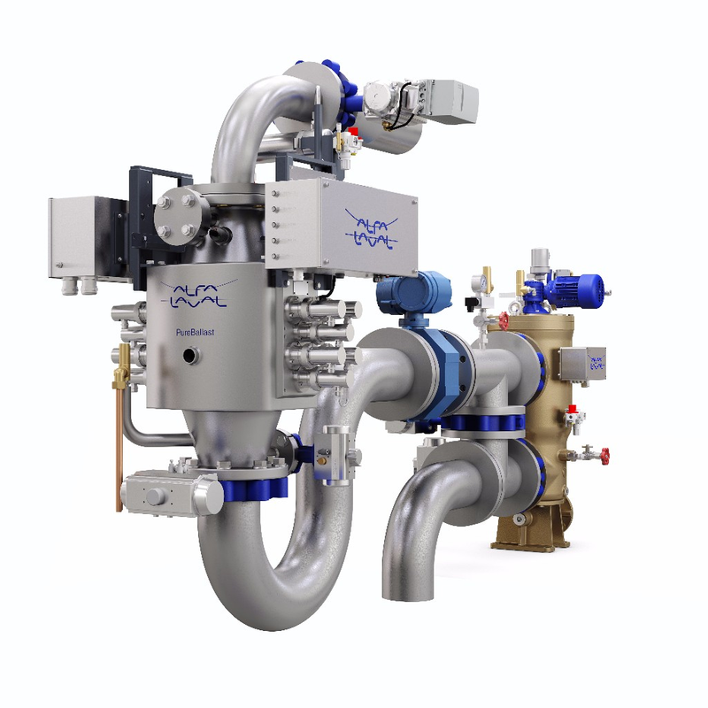 Alfa Laval Introduces PureBallast 3.1 Compact Flex