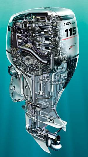 Honda Marine'S New BF115 Outboard