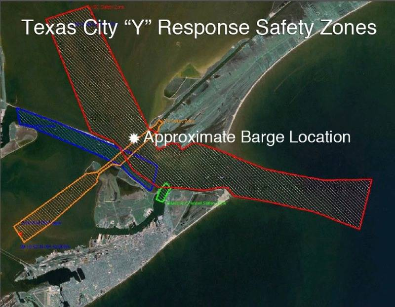 Houston Ship Channel Restricted For Oil Spill Recovery,