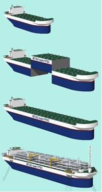 Mitsui innovation noah fpso hull gets aip from bv for Home decor hull limited
