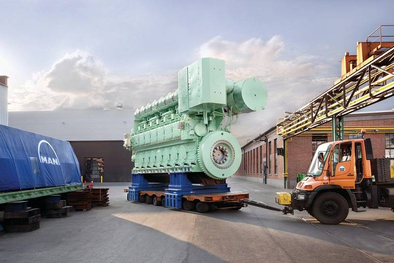 Marine Ranks In Order >> Middle East Owner Clocks Up MAN Engine's 500Th Sale