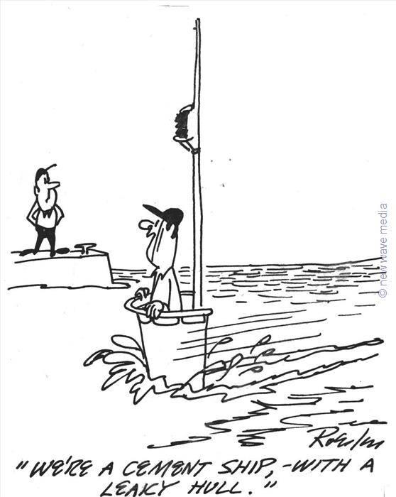 maritime reporter   75  the daily cartoon