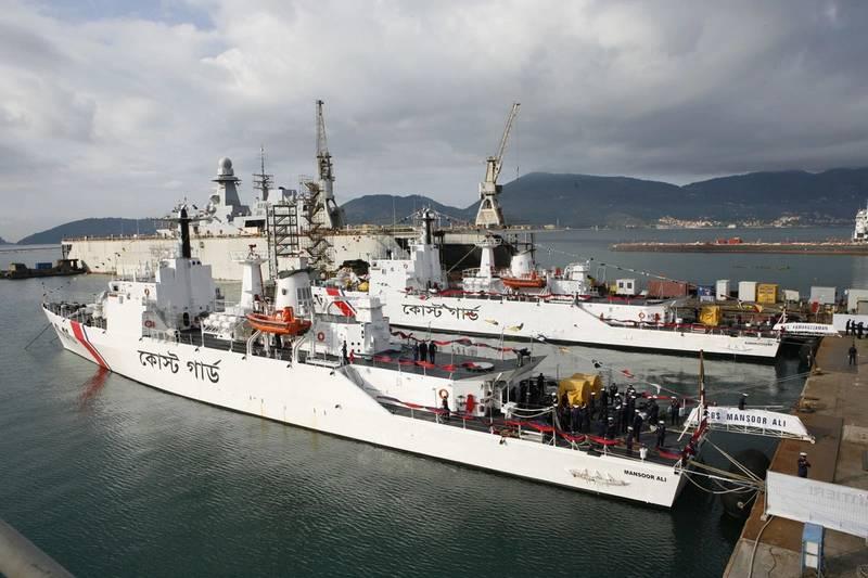 Patrol Vessels Delivered to Bangladesh Coast Guard