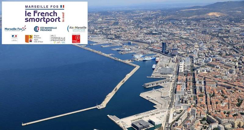 French smart port in med - Port maritime marseille ...
