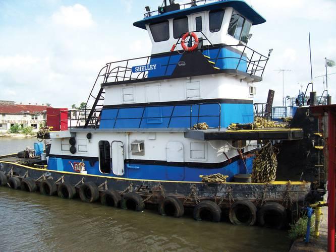 Gulf Coast Workboat Repowered With Volvo Penta Diesels