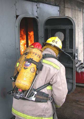 Marine Firefighting At Sea: Training To Survive