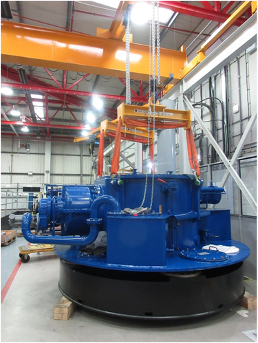 2)The VSP refurbished and ready for dispatch (Photo: Voith)