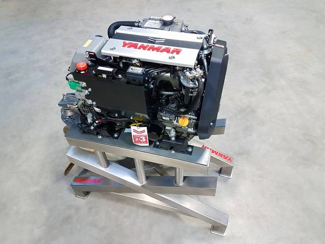 3JH40 inboard engine (Photo: Yanmar)