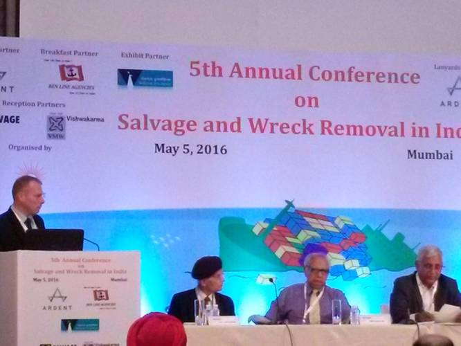 5th India Marine Salvage and Wreck Removal Conference Courtesy JRF