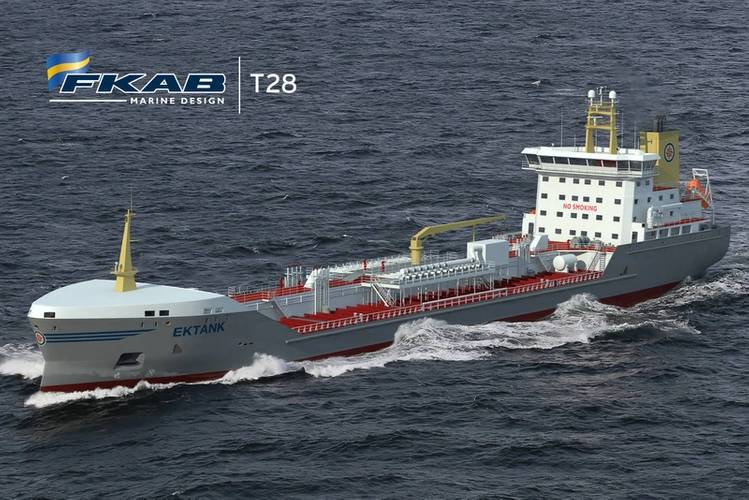 The Switch has received an order from WE Tech to deliver its permanent magnet (PM) shaft generators for Ektank AB's two 18,600 dwt chemical tankers currently under construction. Photo copyright: FKAB Marine Design
