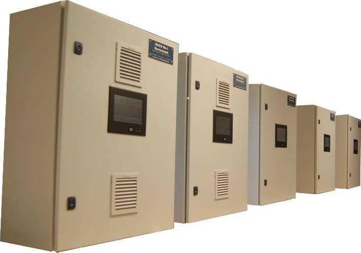 A bank of Servowatch Remote Terminal Units (Image: Servowatch)