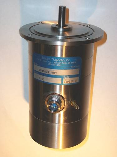 A waterproof motor with stainless steel exterior (Photo: Empire Magnetics)