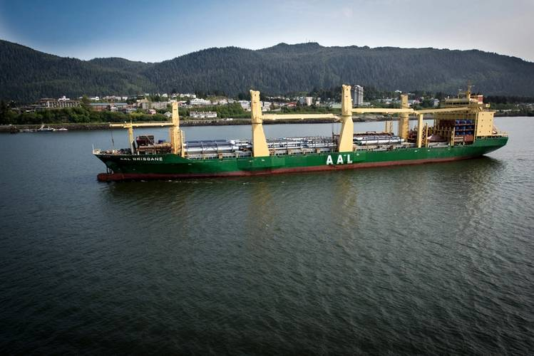 AAL Brisbane will expand its 'Pacific Service' liner route to include the British Columbia Port of Prince Rupert