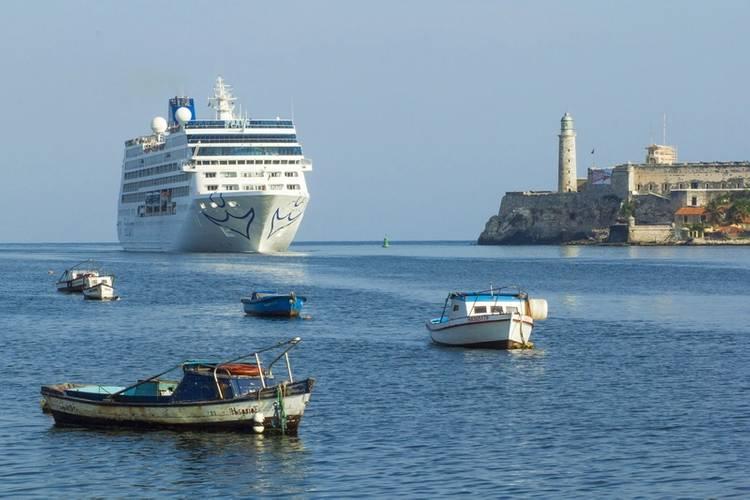 Adonia sails into Havana (Photo: Carnival Corporation)