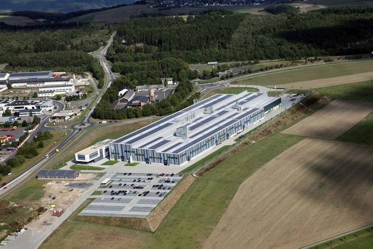 Aerial view of the new SCHOTTEL plant; ©SCHOTTEL
