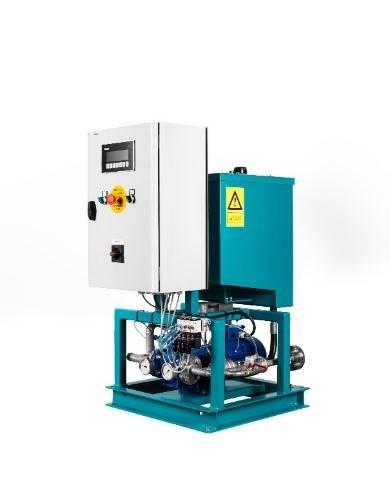 SEA-Mate B1000 Cylinder oil Blending-on-Board system (Image: Maersk Fluid Technology)