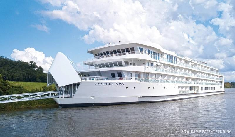 American Song 1st Modern Riverboat in USA (Photo: American Cruise Lines)