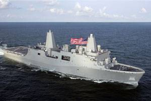 Amphibious transport dock ship New York (LPD 21) (Photo Courtesy Northrop Grumman)