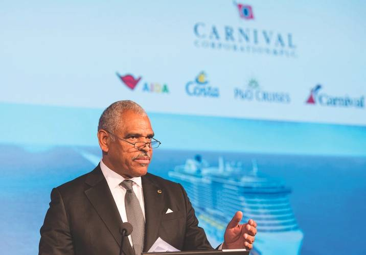 Arnold Donald, President and CEO of Carnival Corporation (Photo: Carnival Corp.)