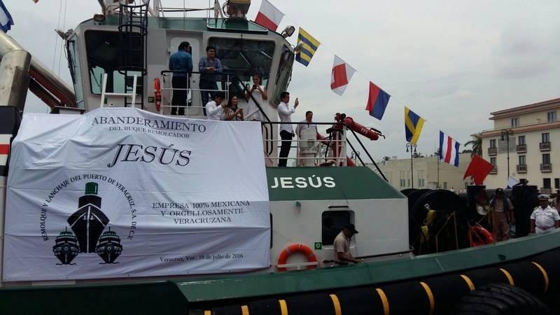 ASD Tug 2411 Jesus  naming ceremony Photo Damen