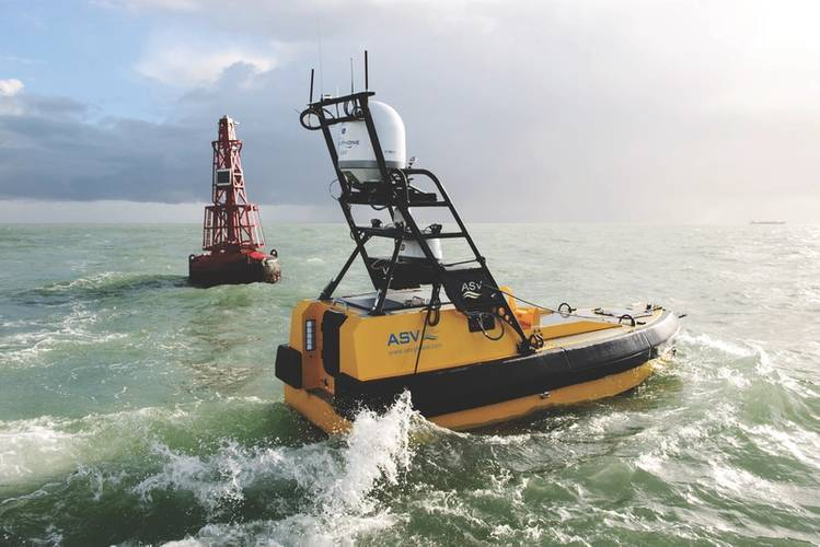 ASV C-Worker 6 is a multi-role work class ASV suitable for a variety of offshore and coastal tasks. (Credit: ASV)