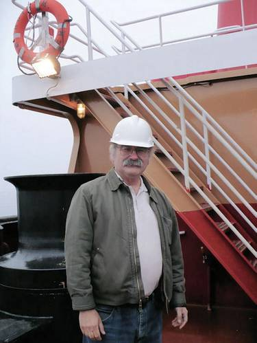AT/B design specialist Robert  Hill, Ocean Tug & Barge Engineering Corp.